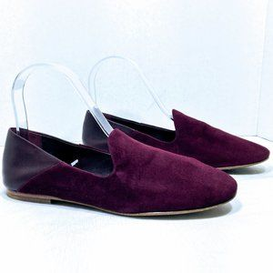 Vince Marley Suede & Leather Loafer Flats